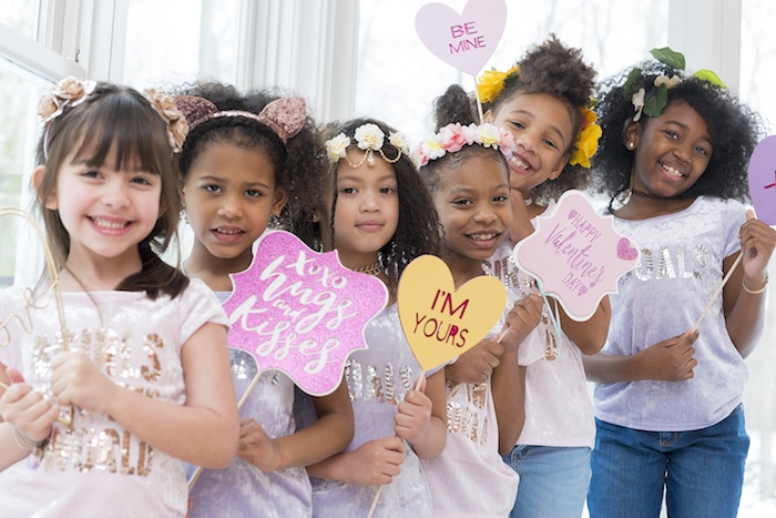 Elegant Bohemian Valentine's Day Party on Kara's Party Ideas | KarasPartyIdeas.com (7)