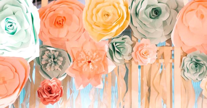 Elegant Floral 100 Days Party on Kara's Party Ideas   KarasPartyIdeas.com (1)