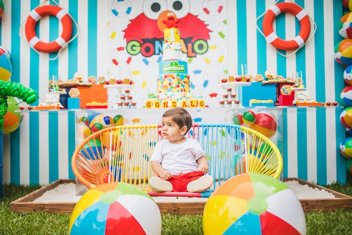 Elmo's Super Splash Birthday Party on Kara's Party Ideas | KarasPartyIdeas.com (5)