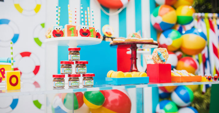 Elmo's Super Splash Birthday Party on Kara's Party Ideas | KarasPartyIdeas.com (1)