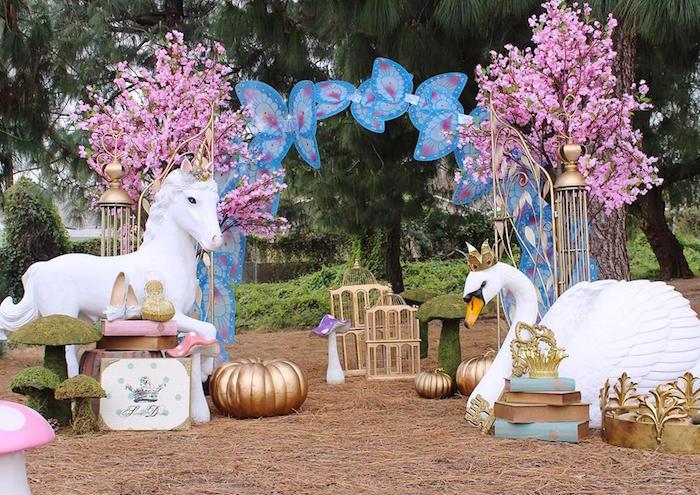Fantasy Fairytale Birthday Photoshoot on Kara's Party Ideas | KarasPartyIdeas.com (10)