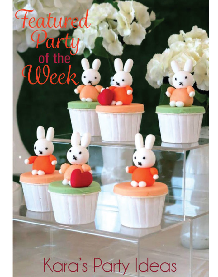 Featured Party of the Week: Miffy Bunny Birthday | Kara's Party Ideas