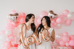 Love Balloon Signage from a Galentine's Day Valentine Brunch on Kara's Party Ideas | KarasPartyIdeas.com (16)
