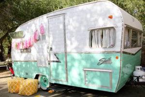 Glamper from a Girly Woodland Glamping Party on Kara's Party Ideas | KarasPartyIdeas.com (23)