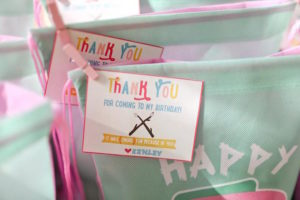 Glamping Favor Tag from a Girly Woodland Glamping Party on Kara's Party Ideas   KarasPartyIdeas.com (19)