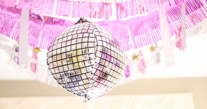 Glam Disco Birthday Party on Kara's Party Ideas | KarasPartyIdeas.com (1)