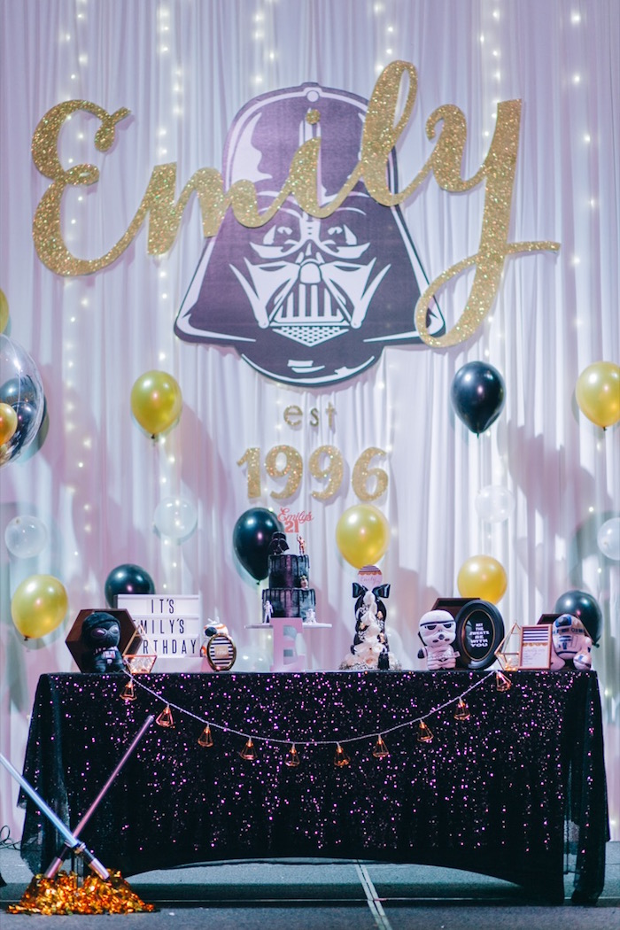 Glam Rock Star Wars Party on Kara's Party Ideas | KarasPartyIdeas.com (23)
