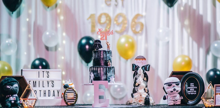 Glam Rock Star Wars Party on Kara's Party Ideas | KarasPartyIdeas.com (1)
