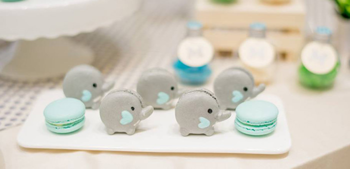 Little Elephant Birthday Party on Kara's Party Ideas | KarasPartyIdeas.com (3)