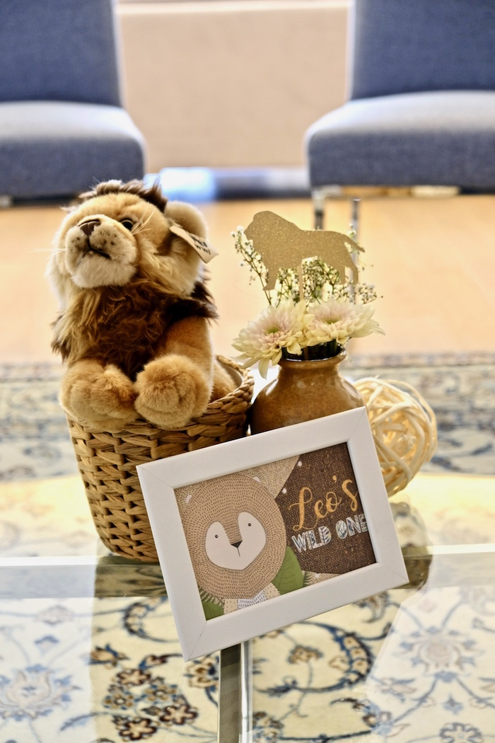 Little Lion Birthday Party on Kara's Party Ideas | KarasPartyIdeas.com (20)