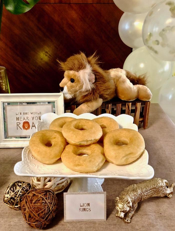 Little Lion Birthday Party on Kara's Party Ideas | KarasPartyIdeas.com (9)