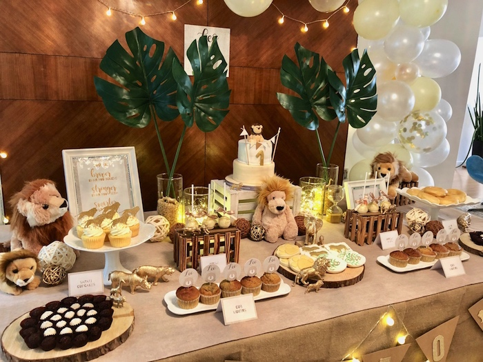 Little Lion Birthday Party on Kara's Party Ideas | KarasPartyIdeas.com (7)