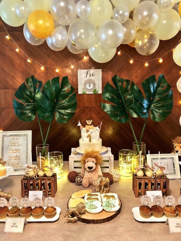 Little Lion Birthday Party on Kara's Party Ideas | KarasPartyIdeas.com (6)
