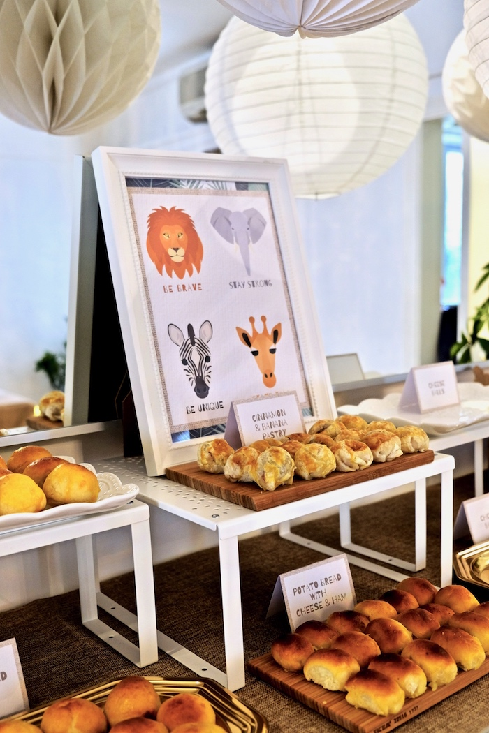 Food + Signage from a Little Lion Birthday Party on Kara's Party Ideas | KarasPartyIdeas.com (25)