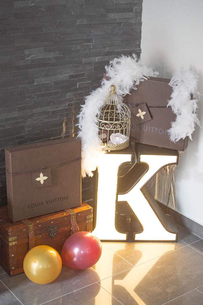 Kara S Party Ideas Louis Vuitton Themed Party Kara S