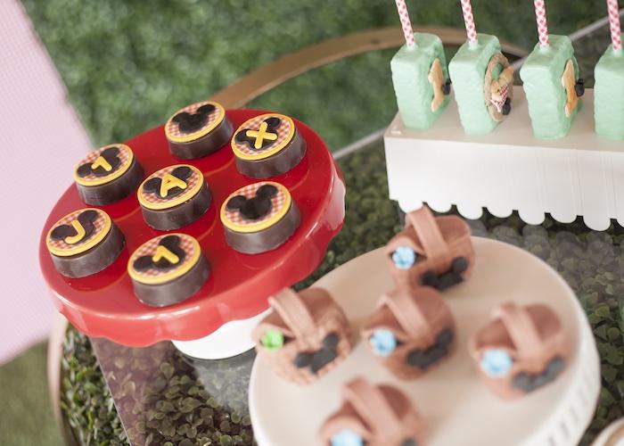 Mickey Mouse Oreos from a Mickey Mouse Picnic Party on Kara's Party Ideas | KarasPartyIdeas.com (4)