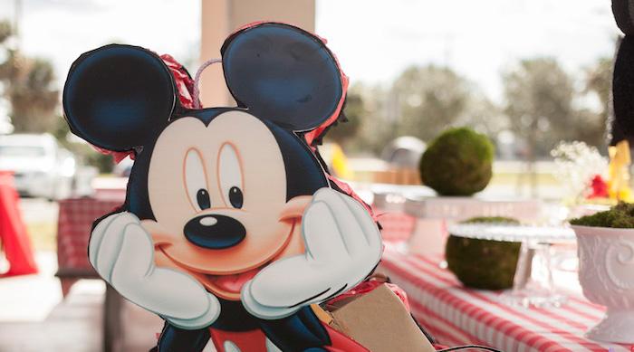 Mickey Mouse Picnic Party on Kara's Party Ideas | KarasPartyIdeas.com (1)