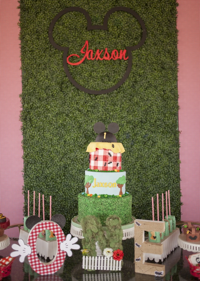 Mickey Mouse Picnic Party on Kara's Party Ideas | KarasPartyIdeas.com (18)
