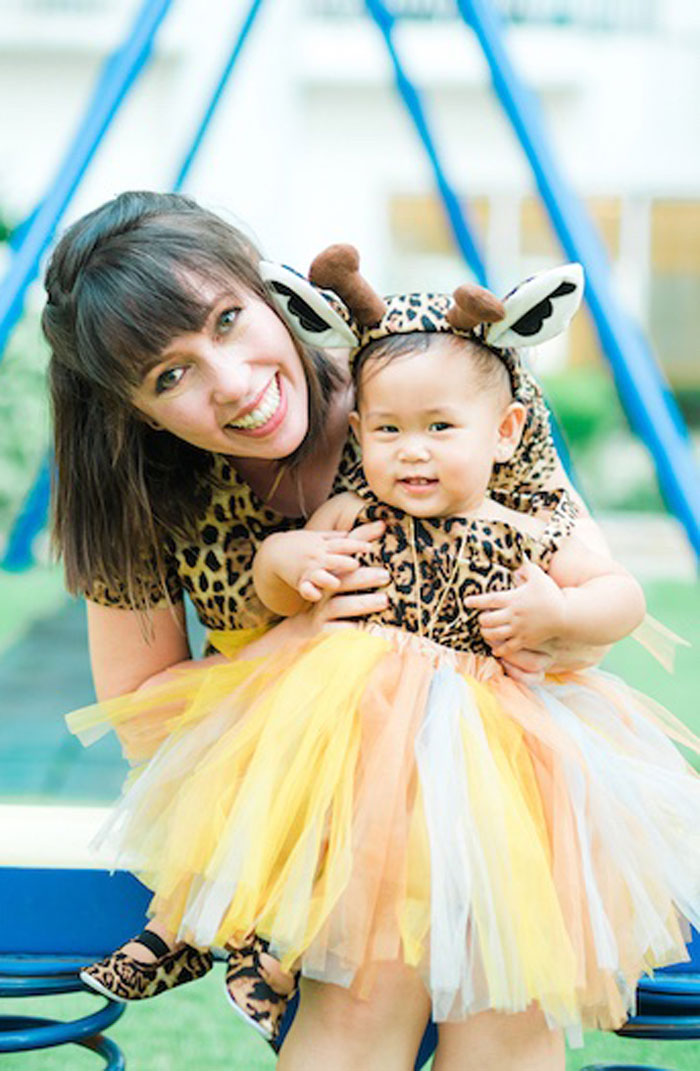 Safari Tassel Dress from a Minnie Mouse Safari Birthday Party on Kara's Party Ideas | KarasPartyIdeas.com (16)