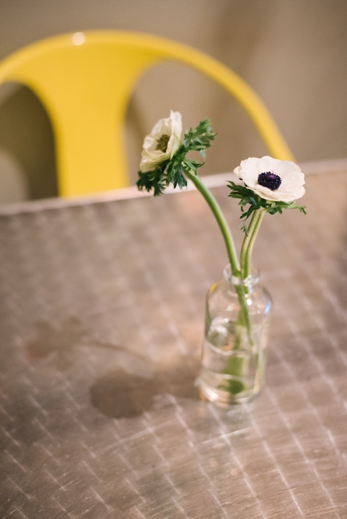 Black & White Blooms from a Modern Industrial Birthday Party on Kara's Party Ideas | KarasPartyIdeas.com (8)