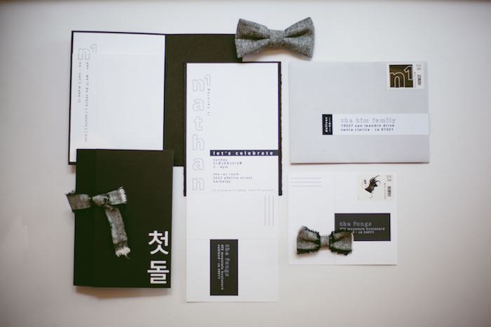 Invitation + Stationery from a Modern Industrial Birthday Party on Kara's Party Ideas | KarasPartyIdeas.com (21)