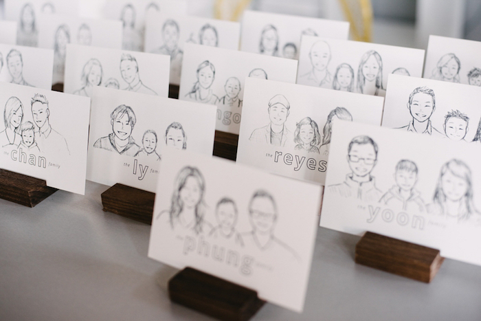 Personalized Artwork Family Favors from a Modern Industrial Birthday Party on Kara's Party Ideas | KarasPartyIdeas.com (19)
