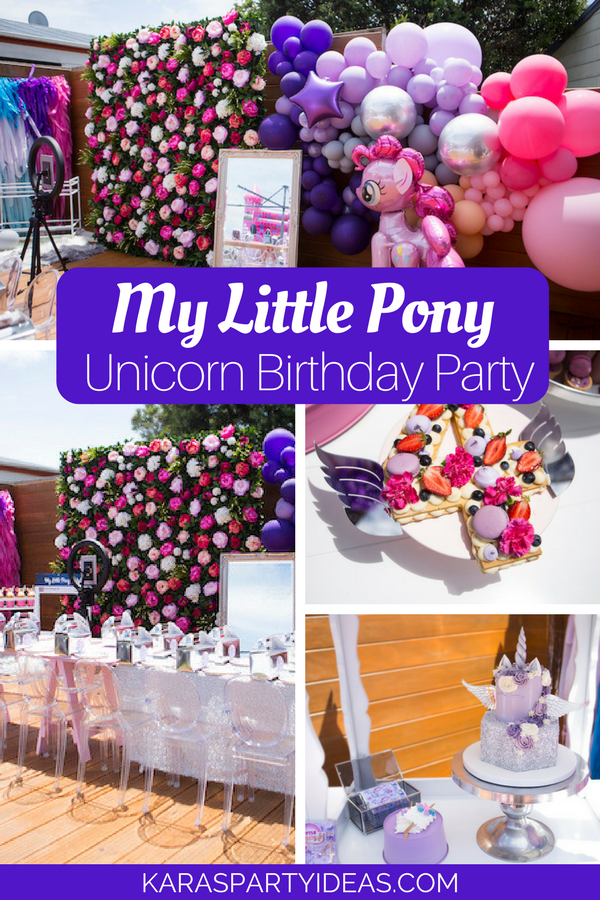 My Little Pony Unicorn Birthday Party Via Karas Ideas