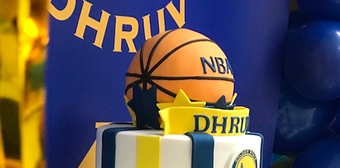 NBA Warriors Basketball Party on Kara's Party Ideas | KarasPartyIdeas.com (1)