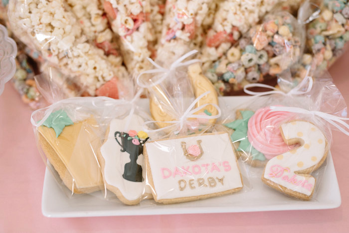 Kentucky Derby Cookies from a Pastel Kentucky Derby Inspired Birthday Party on Kara's Party Ideas | KarasPartyIdeas.com (11)