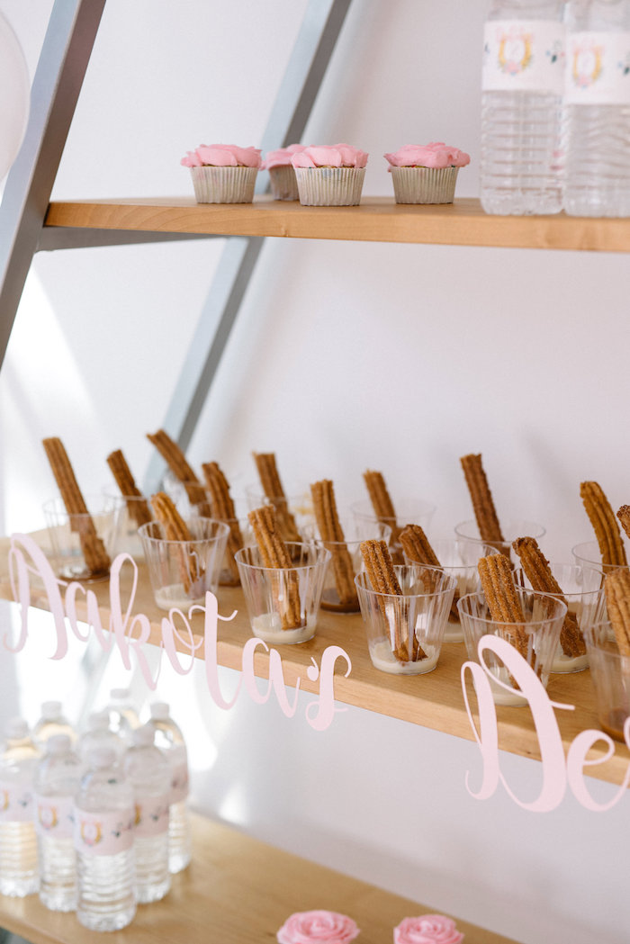 Churros from a Pastel Kentucky Derby Inspired Birthday Party on Kara's Party Ideas | KarasPartyIdeas.com (18)