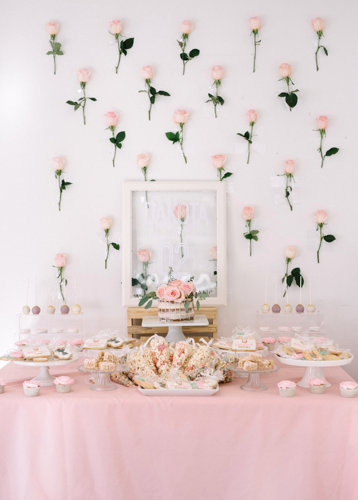 Kentucky Derby-inspired Dessert Table from a Pastel Kentucky Derby Inspired Birthday Party on Kara's Party Ideas   KarasPartyIdeas.com (15)