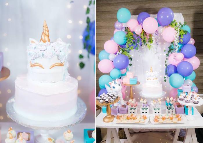Pastel Unicorn Birthday Party On Karas Ideas
