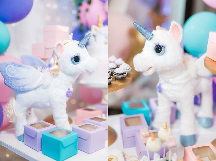 Unicorn Props from a Pastel Unicorn Birthday Party on Kara's Party Ideas | KarasPartyIdeas.com (12)