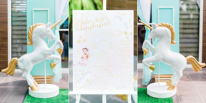 Highlight Board from a Pastel Unicorn Birthday Party on Kara's Party Ideas | KarasPartyIdeas.com (8)