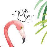 Pink Flamingo Birthday Party on Kara's Party Idea | KarasPartyIdeas.com (1)