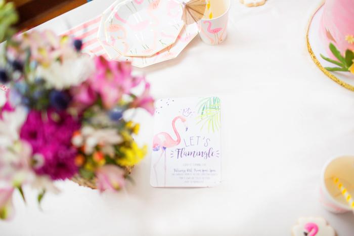 Pink Flamingo Birthday Party on Kara's Party Idea | KarasPartyIdeas.com (11)