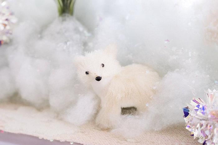 Polar Bear from a Shimmery Winter Wonderland Party on Kara's Party Ideas | KarasPartyIdeas.com (12)
