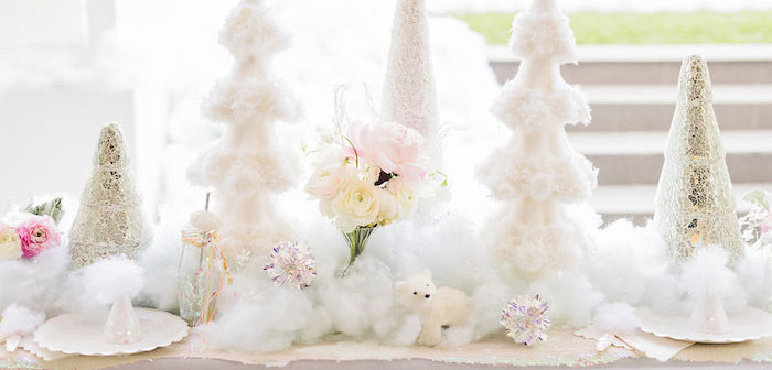 Shimmery Winter Wonderland Party on Kara's Party Ideas | KarasPartyIdeas.com (1)
