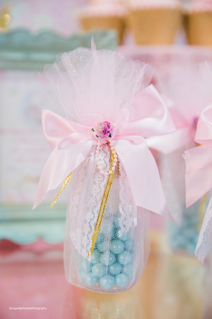 Frilly Favors from a Sparkly Baby Unicorn Birthday Party on Kara's Party Ideas | KarasPartyIdeas.com (12)