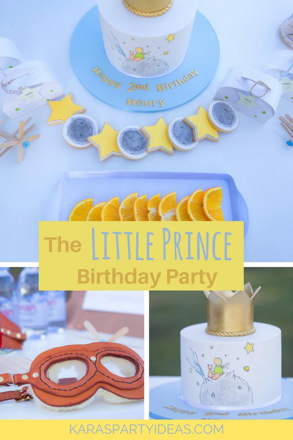 The Little Prince Birthday Party via Kara's Party Ideas - KarasPartyIdeas.com