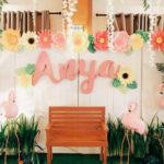 Tropical Flamingo Birthday Party on Kara's Party Ideas | KarasPartyIdeas.com (1)