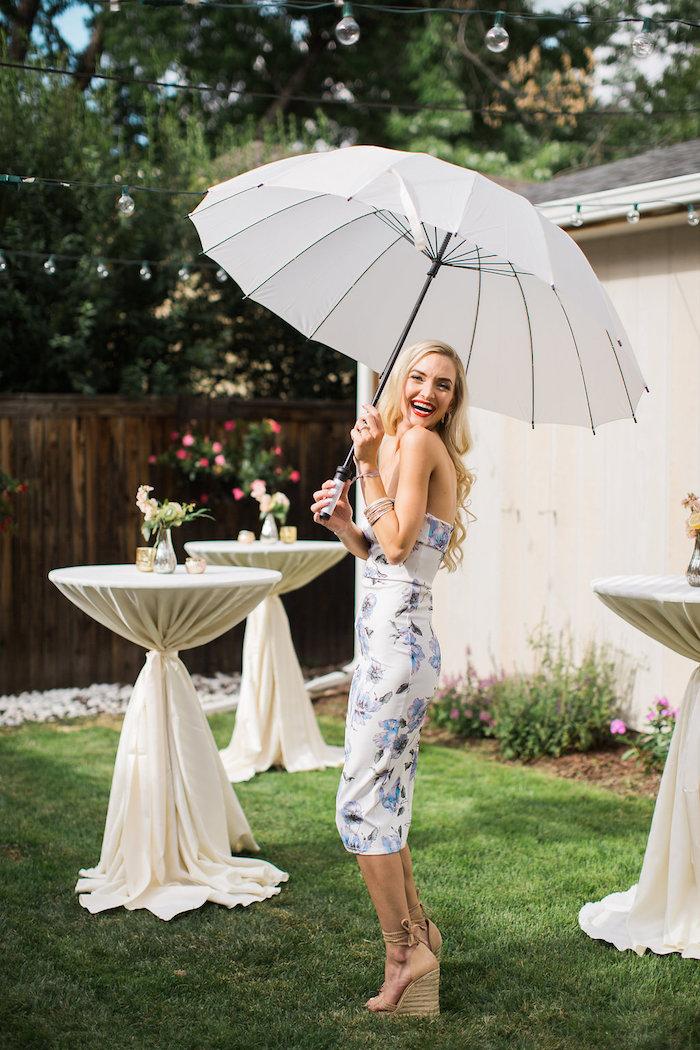 Kara S Party Ideas Umbrella Bridal Shower Kara S Party Ideas