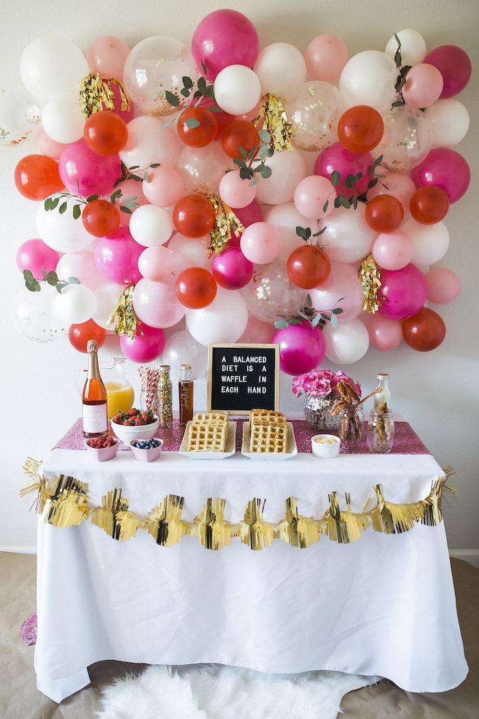 Valentine Waffle Bar Brunch on Kara's Party Ideas | KarasPartyIdeas.com (8)