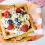 Valentine Waffle Bar Brunch on Kara's Party Ideas | KarasPartyIdeas.com (1)