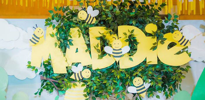 Winnie the Pooh Garden Birthday Party on Kara's Party Ideas | KarasPartyIdeas.com (1)