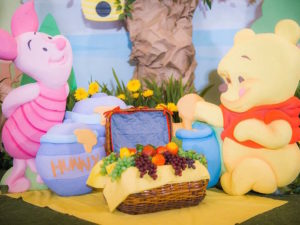 Winnie the Pooh & Piglet Picnic from a Winnie the Pooh Garden Birthday Party on Kara's Party Ideas | KarasPartyIdeas.com (20)