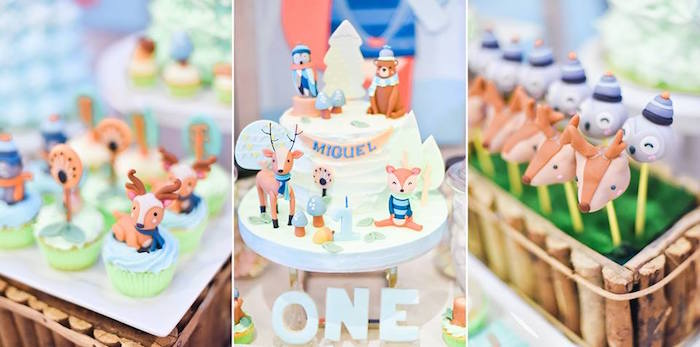 Winter Woodland Party Sweets from a Winter Woodland Birthday Party on Kara's Party Ideas | KarasPartyIdeas.com (21)