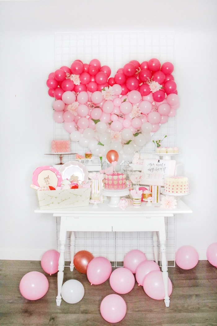 Kara S Party Ideas You Make My Heart Pop Valentine S Day Party