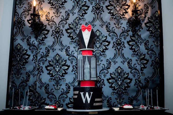 Wayne Tower Cake from a