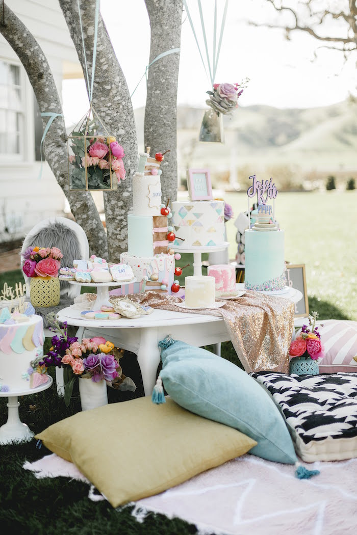 Dessert Table from a